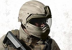 The US Army Testing Halo Like Helmets!
