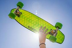 Hydroflex Develops 'Honeycomb', A Skateboard Made Of Foam, Fiber And Resin
