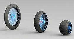Roadless Wheel Concept Envisions Adjustable All-Terrain Wheels