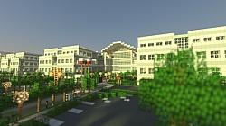 Videographer Recreates Apple's Infinite Loop Headquarters In Minecraft
