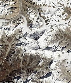 NASA Satellite Captured Amazing Image Of Mount Everest From Space