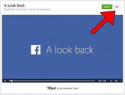 [Tutorial] Edit Your Facebook Look Back Movie