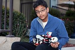 12-Year-Old Creates Braille Printer Using Lego Kit