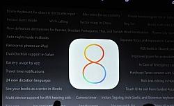 Apple iOS 8: Quick Full Features List