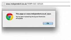 Syrian Electronic Army Hacked Major UK-based Media Websites
