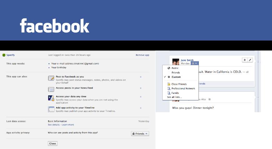 facebook timeline control