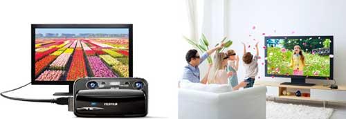 Fujifilm FinePix Real 3D W3 digital camera highlights