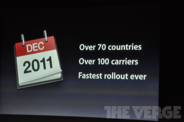 iPhone 4S world