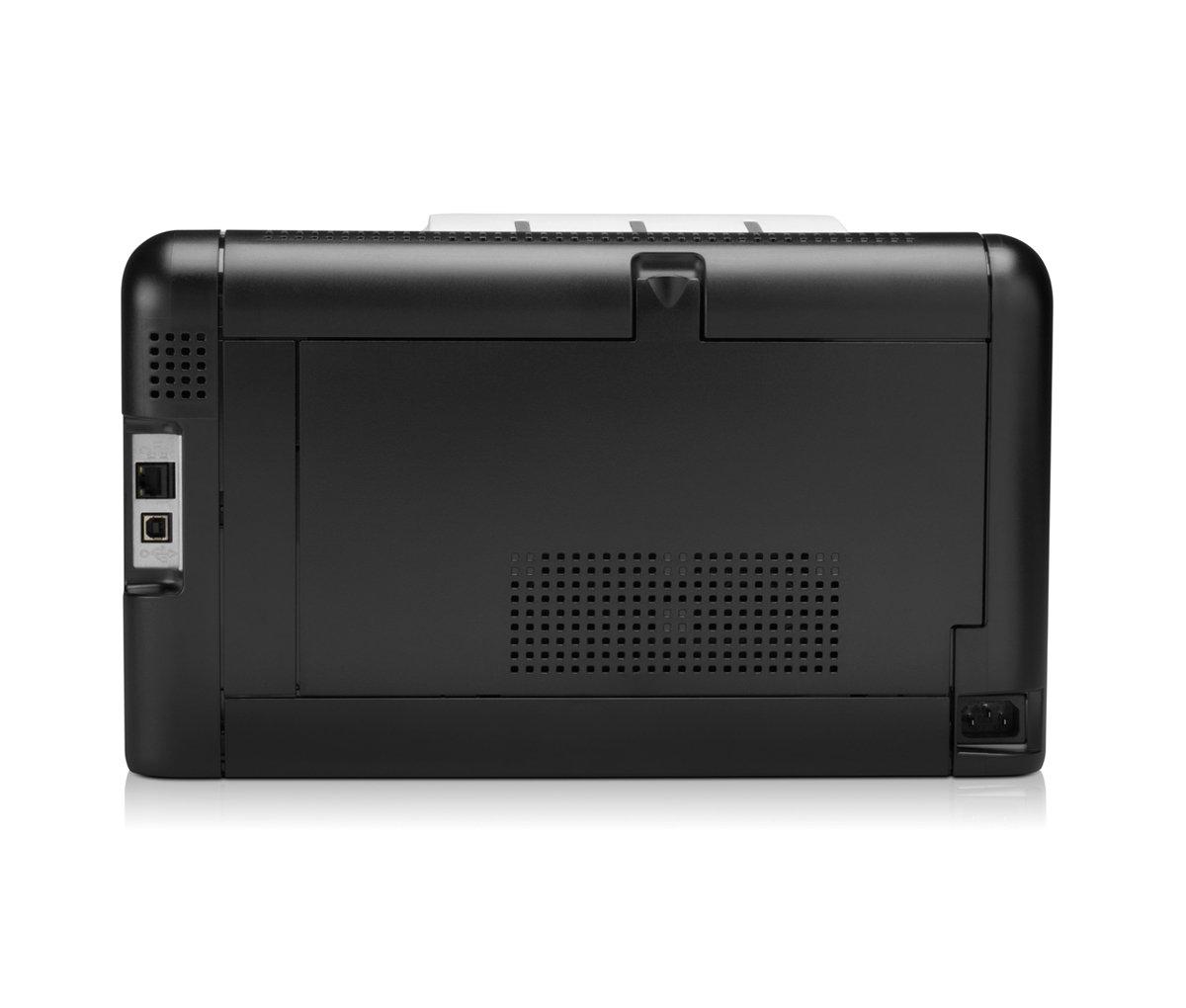 HP LaserJet Pro CP1525nw Back View