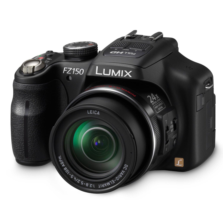 Panasonic DMC-FZ150K 12.1 MP Digital Camera With CMOS Sensor And 24x Optical Zoom