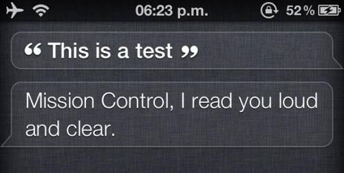 Siri iPod Touch