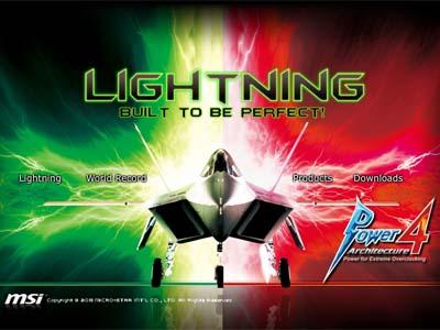 MSI N580GTX Lightning