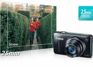 Canon PowerShot SX260 HS Wide-Angle at Amazon.com