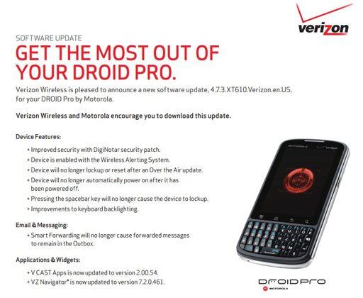 DROID Pro By Motorola