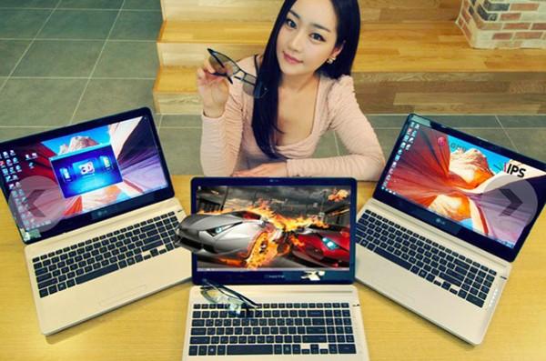 LG A540-T/D 3D Notebook