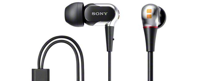Sony XBA-2VP And XBA-1VP