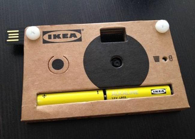 IKEA Cardboard Digital Camera