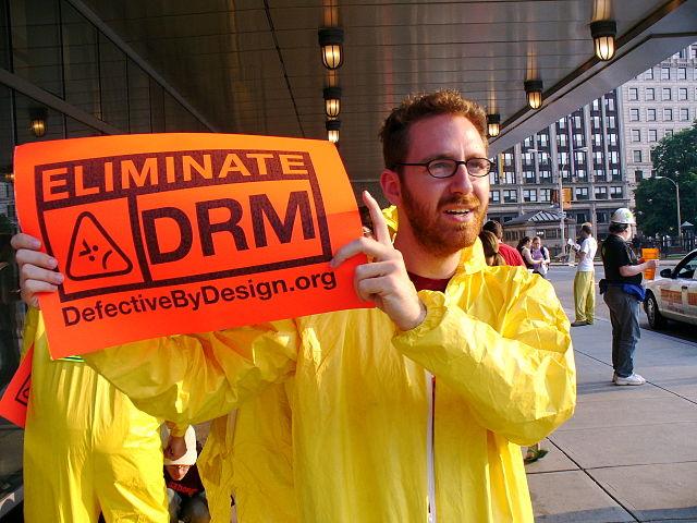 DRM Free Ebook, Image Credit: WikiMedia