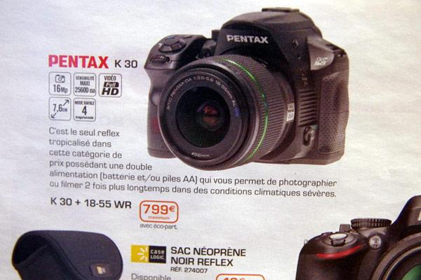 Pentax K-30, Image Credit: Engadget