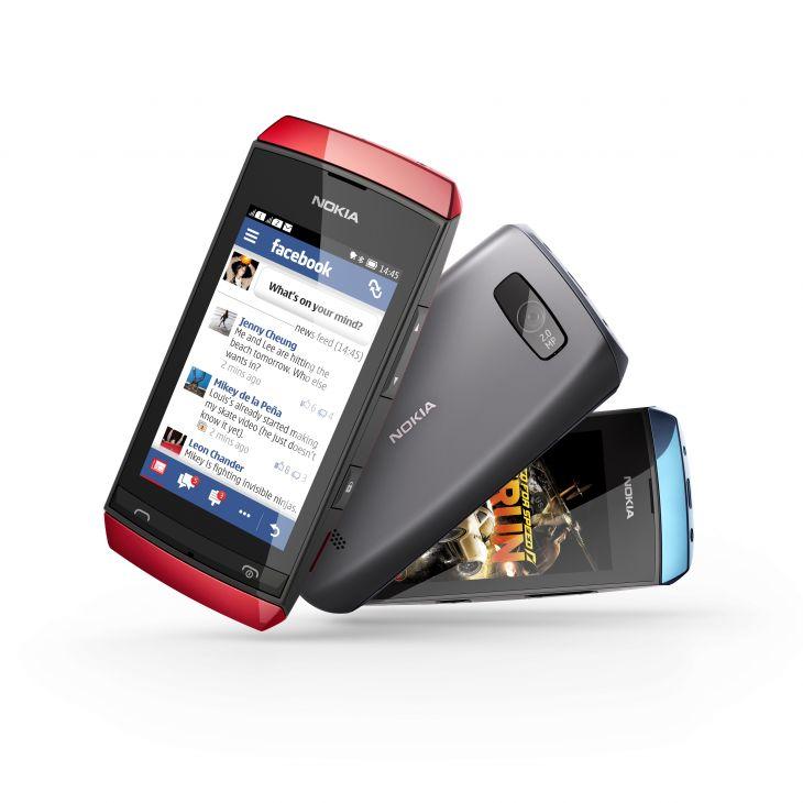 Nokia Asha 305, 306 and 311, Image Credit: Nokia