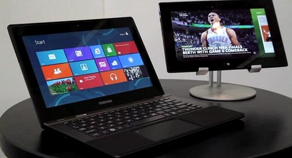 Toshiba's Windows 8 RT Laptop, Image Credit: engadget