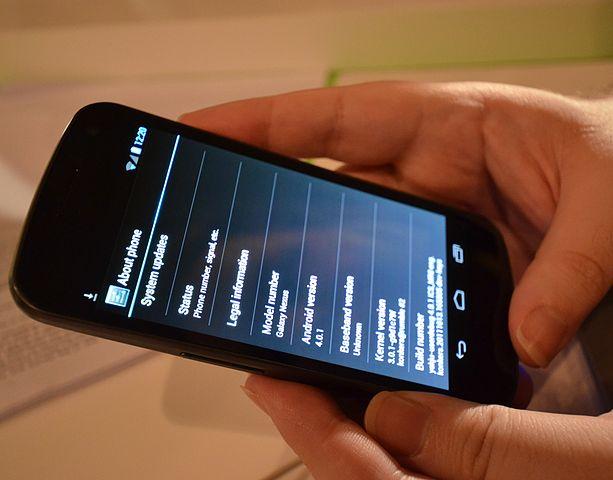 Galaxy Nexus, Image Credit: Wikipedia