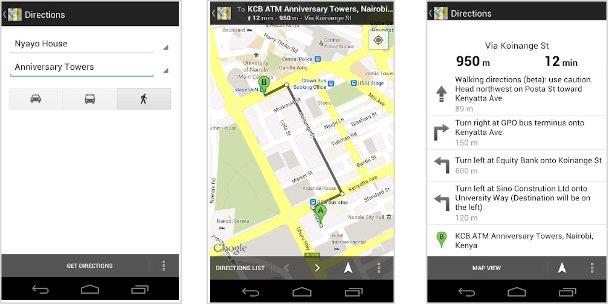 Google Maps, Image credit: ubergizmo.com