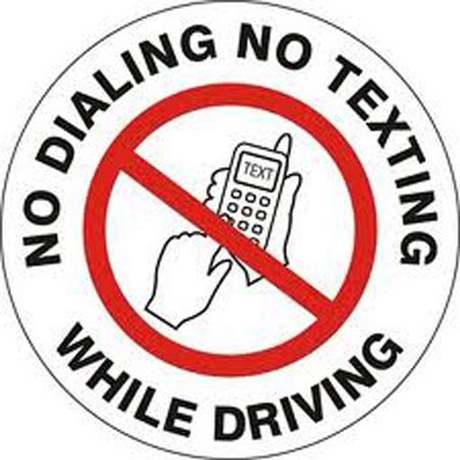 No Texting And Talking