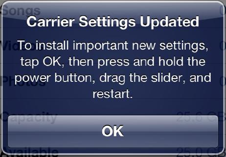 carrier settings update, image credit:apple.com