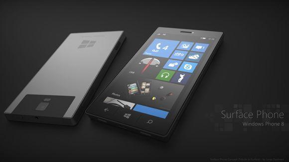 Microsoft Surface Phone, image credit:techradar.com