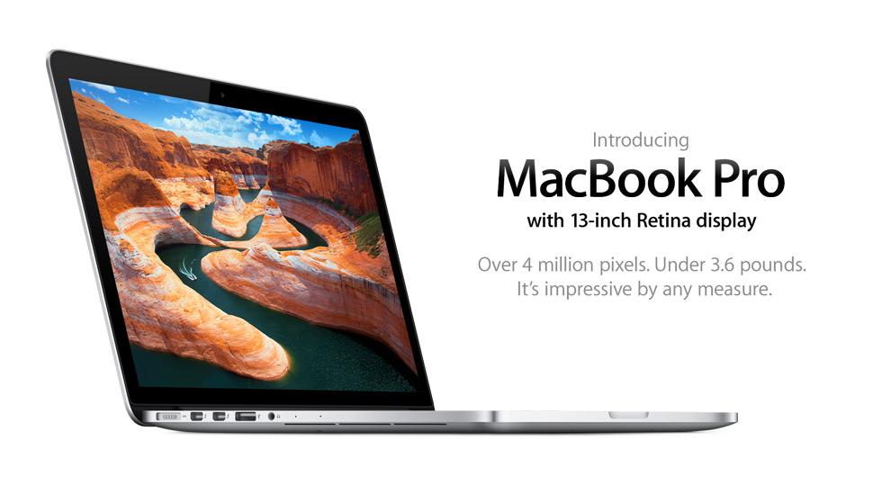 MacBook Pro 13*inch Retina Display