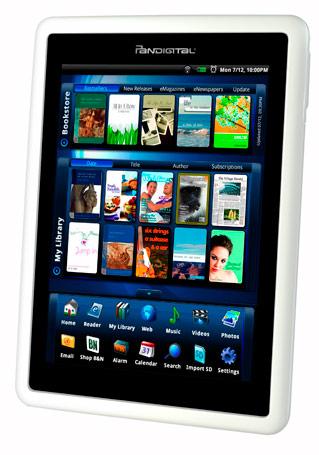 Pandigital brings 7-inch Novel e-reader