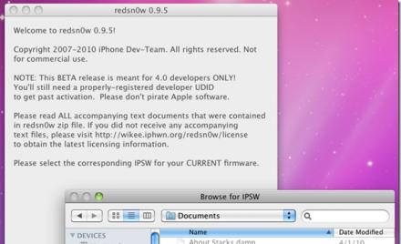 Custom iOS 4 1 Firmware(Download Link + Installation