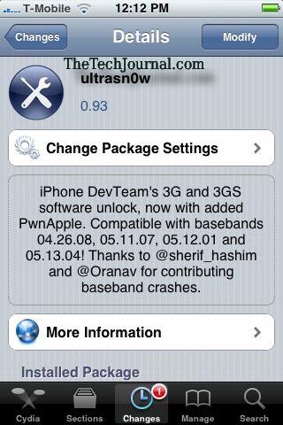 Unlock iPhone 4, 3G & 3GS On iOS 4.0 With UltraSn0w