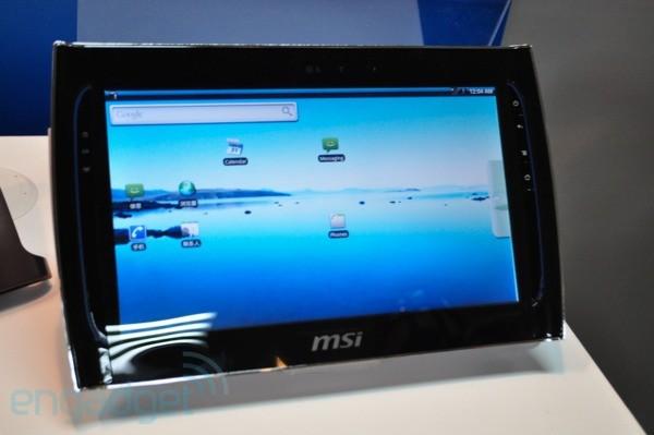 MSI WindPad 110 Powered by NVIDIA Tegra 2 processor